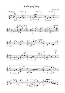Колыбельная июля, Op.3: Колыбельная июля by BOUROFF