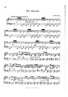 Увертюра: Клавир by Даниэль Обер
