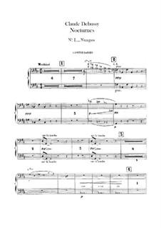 Три ноктюрна, L.91: Партия контрабасов by Клод Дебюсси