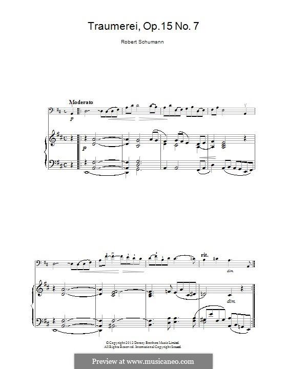 No.7 Грезы: Для виолончели by Роберт Шуман
