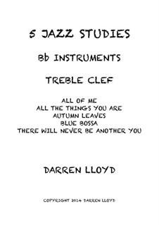 Intermediate Jazz studies for Bb Trumpet: Intermediate Jazz studies for Bb Trumpet by Darren Lloyd