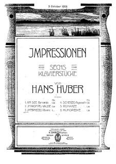 Шесть пьес: No.3 Интермеццо by Ханс Хубер
