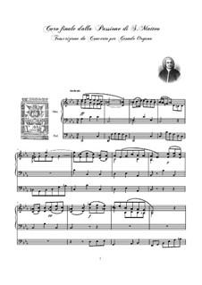 Часть II: No.78, for organ by Иоганн Себастьян Бах