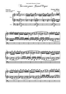 Токката для органа: Для одного исполнителя by Gaston Belier