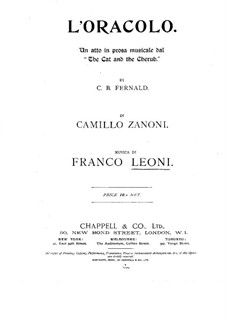L'Oracolo: L'Oracolo by Франко Леони