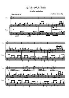 Колыбельная Аделаиды: Для гобоя и фортепиано by Владимир Солонский