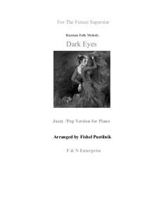 Очи чёрные: Jazzy/pop version, for piano by Флориан Герман