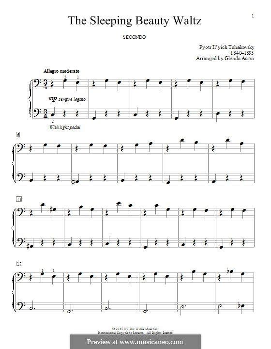Вальс: Для фортепиано by Петр Чайковский