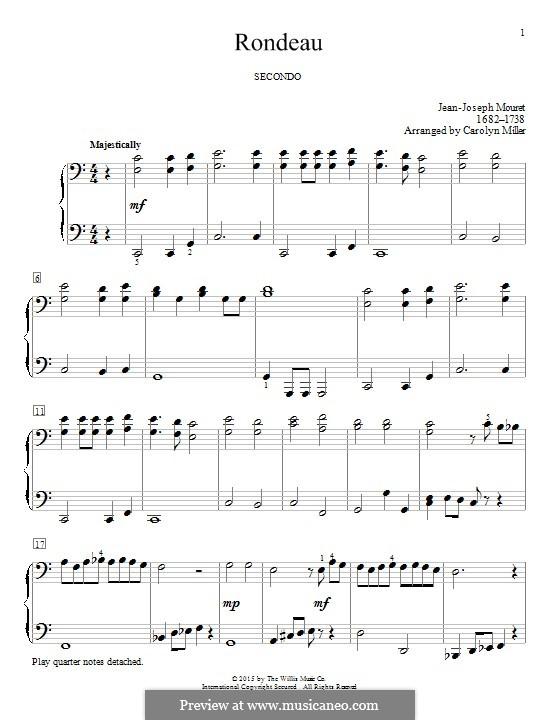 Рондо: Для фортепиано by Жан-Жозеф Муре