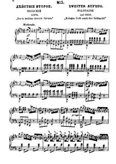 Фрагменты (Альтернативные варианты): Акт II, для солистов, хора и фортепиано by Михаил Глинка