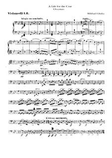 Увертюра: Партия виолончелей by Михаил Глинка