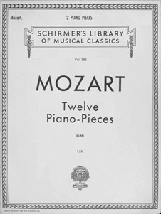 Twelve Pieces: Twelve Pieces by Вольфганг Амадей Моцарт