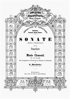 Три сонаты, Op.50: Соната No.3 by Муцио Клементи