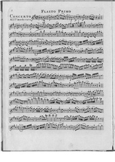 Концерт для двух флейт с оркестром, Op.15: Концерт для двух флейт с оркестром by Йозеф Шмитт