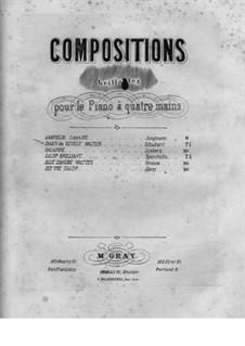 Les Dames de Séville, Op.43: Les Dames de Séville by Камиль Шуберт