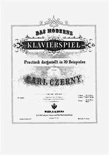 Das moderne Klavierspiel, Op.837: Сборник I by Карл Черни
