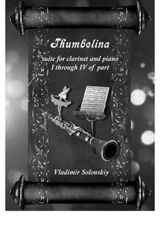 Дюймовочка: Для кларнета и фортепиано by Владимир Солонский