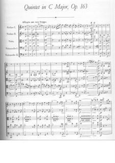 Струнный квинтет до мажор, D.956 Op.163: Часть I by Франц Шуберт