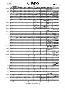 Chains: For fanfare band by Wim Lasoen