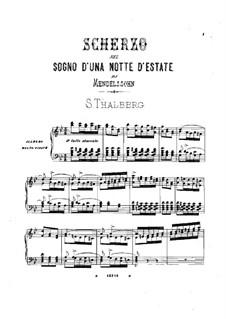 Скерцо: Для фортепиано by Феликс Мендельсон-Бартольди