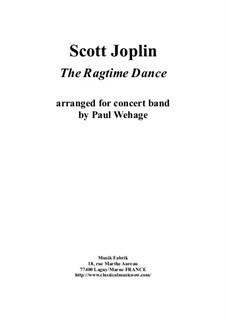 Танец в стиле рэгтайм: For concert band – score only by Скотт Джоплин