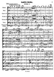 Асканио в Альбе, K.111: Акт I by Вольфганг Амадей Моцарт