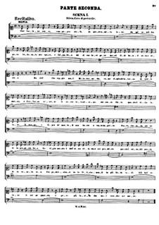 Асканио в Альбе, K.111: Акт II by Вольфганг Амадей Моцарт
