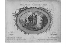 Фрагменты: Акт I, для голосов и фортепиано by Вольфганг Амадей Моцарт