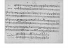 Фрагменты: Акт II, для голосов и фортепиано by Вольфганг Амадей Моцарт