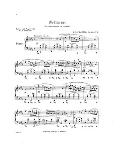 Ноктюрн, Op.48 No.1: Ноктюрн by Эдуард Направник
