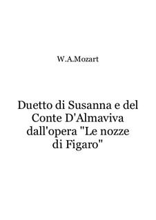 Дуэт Сусанны и Конте: Дуэт Сусанны и Конте by Вольфганг Амадей Моцарт