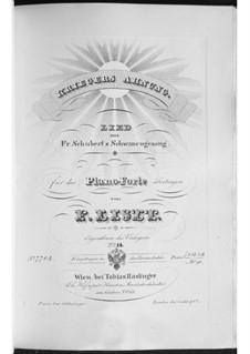 No.2 Предчувствие воина: Для фортепиано, S.560 No.14 by Франц Шуберт