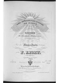 Песни No.17, 18: Аранжировка для фортепиано, S.561 No.11-12 by Франц Шуберт
