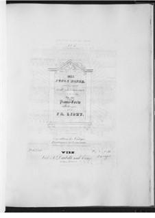 Молодая монахиня, D.828 Op.43 No.1: Для фортепиано, S.558 No.6 by Франц Шуберт