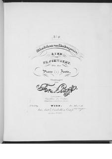 Серенада 'Horch, horch die Lerch im Ätherblau', D.889: Для фортепиано, S.558 No.9 by Франц Шуберт