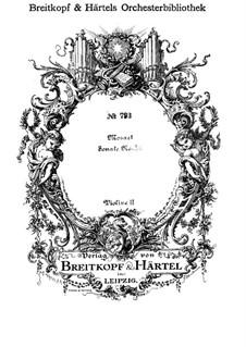 Церковная соната для оркестра No.14 до мажор, K.278: Скрипка II by Вольфганг Амадей Моцарт