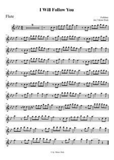 Я хочу за тобою идти: Для флейты by folklore