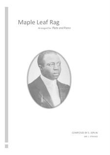 Maple Leaf Rag: Для флейты и фортепиано by Скотт Джоплин