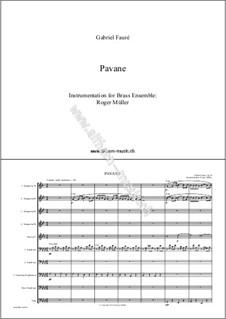 Павана, Op.50: For wind ensemble by Габриэль Форе
