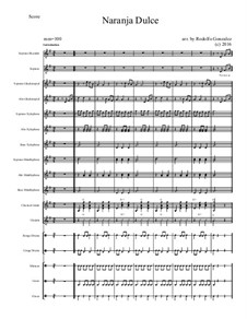 Naranja Dulce: For elementary mariachi orff ensemble by folklore
