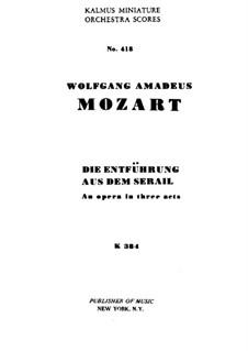 Вся опера: Партитура by Вольфганг Амадей Моцарт