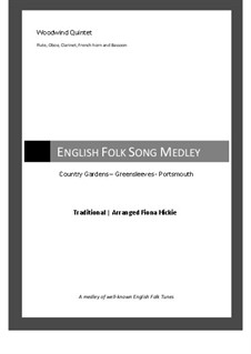 English Folk Song Medley: English Folk Song Medley by folklore