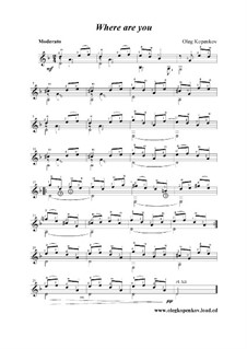 Где ты?, Op.4: Где ты? by Олег Копенков