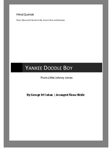 Yankee Doodle Boy: For wind quintet by George Michael Cohan