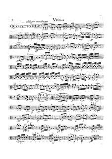 Струнный квартет No.15, K.421/K.417b: Партия альта by Вольфганг Амадей Моцарт
