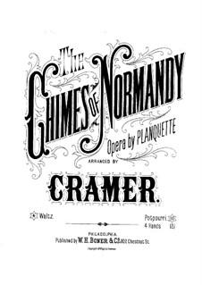 Корневильские колокола: Переложение для фортепиано в четыре руки by Робер Планкетт