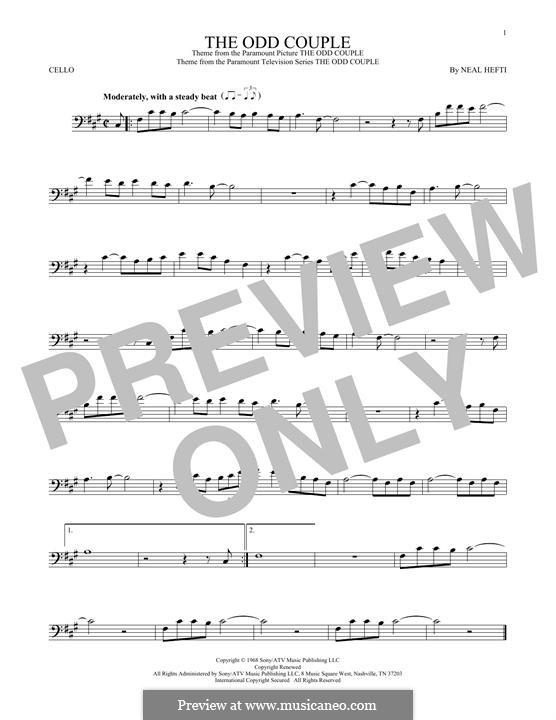 Theme from The Odd Couple: Для виолончели by Neal Hefti