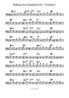Evidence Lesson - Two Chorus Walking Bass Line: Evidence Lesson - Two Chorus Walking Bass Line by Jared Plane