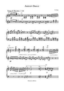 Сюита No.1. Танец Анитры, Op.46 No.3: For button accordion by Эдвард Григ