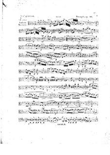 Фортепианный квартет No.5 ми-бемоль мажор, Op.141: Партия альта by Карл Готлиб Райсигер